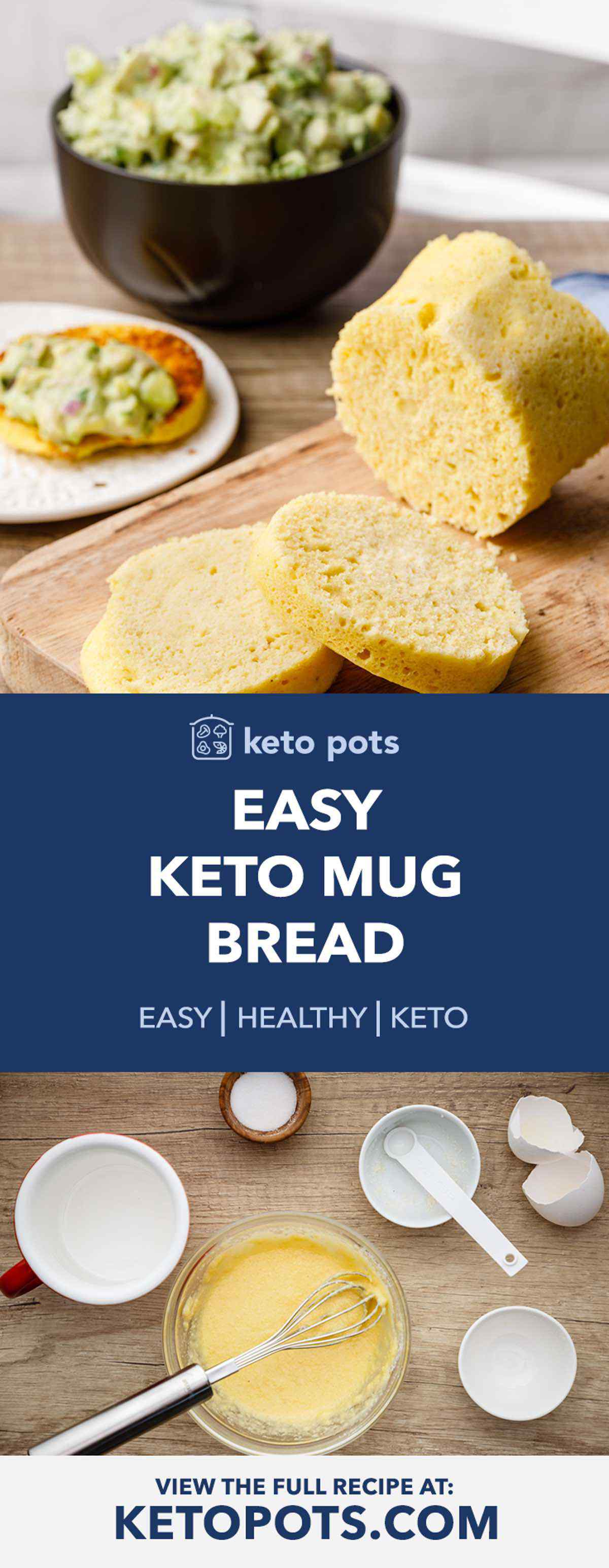 Easy Keto Mug Bread