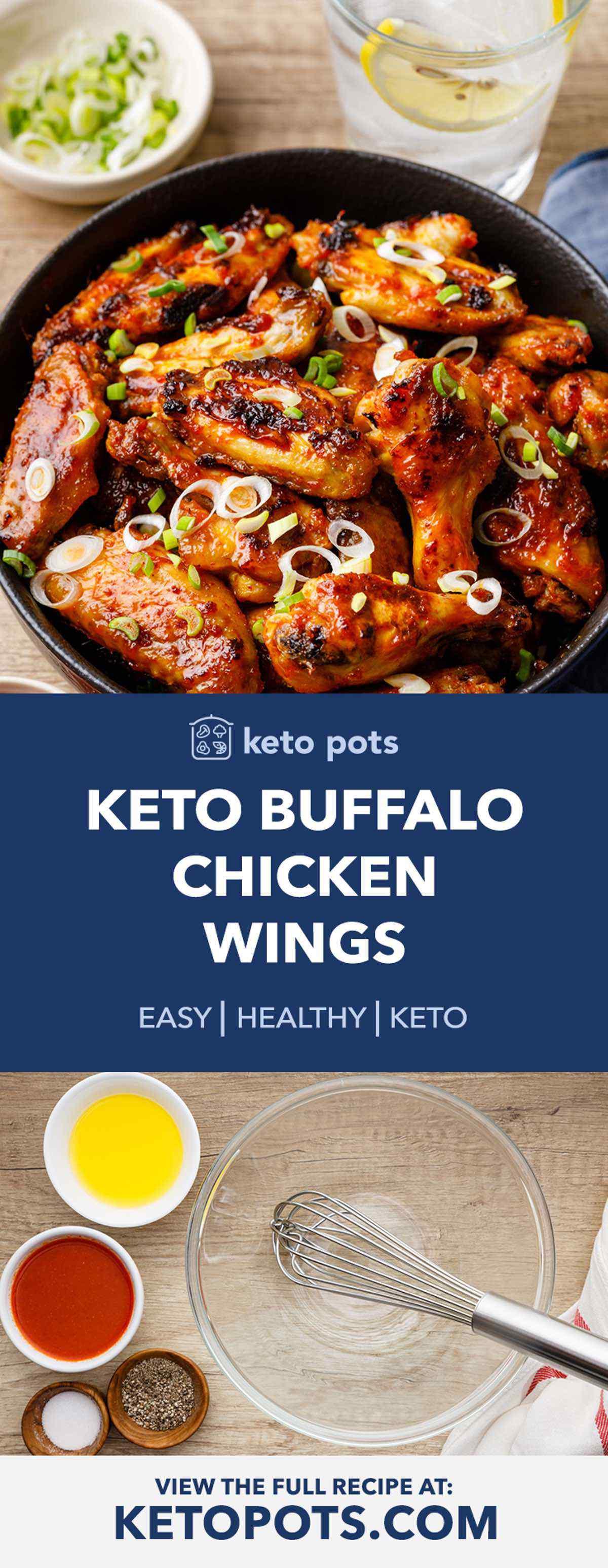 Keto Buffalo Chicken Wings