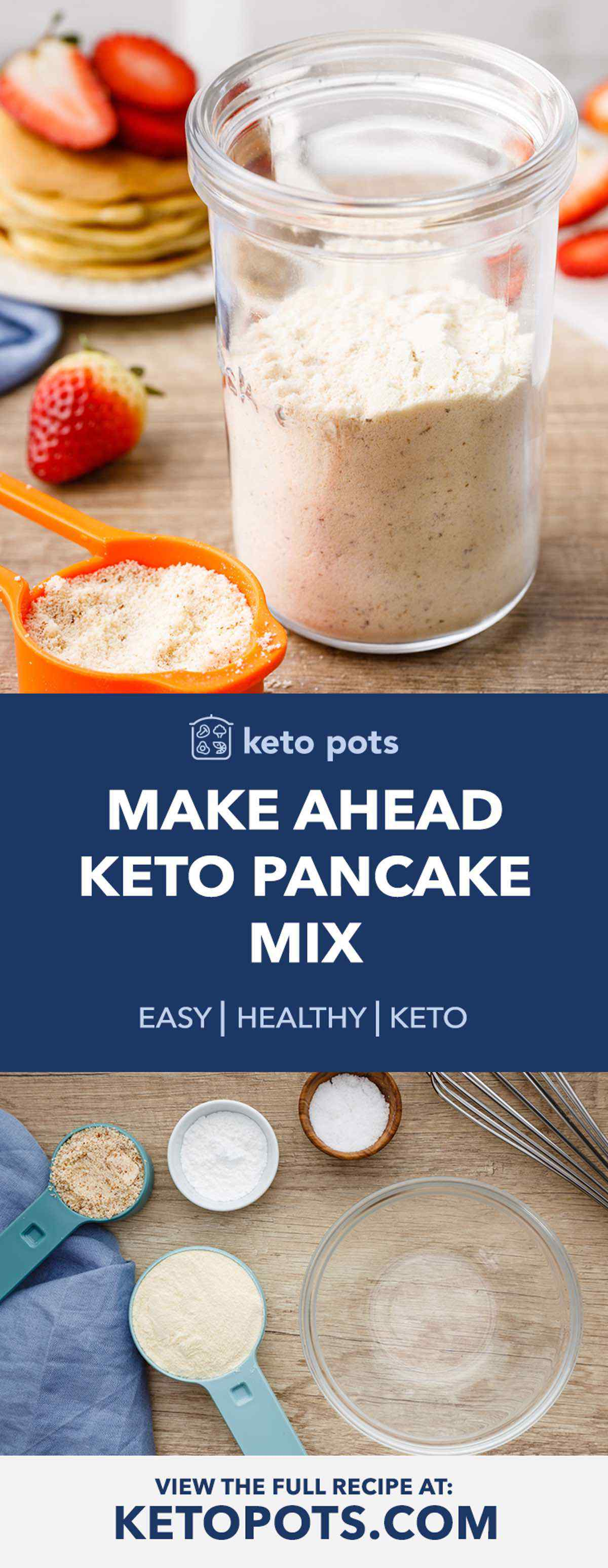 Make Ahead Keto Pancake Mix
