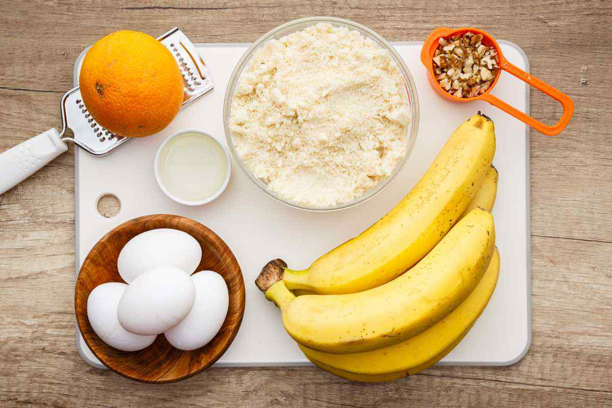 Keto Banana Nut Bread Ever
