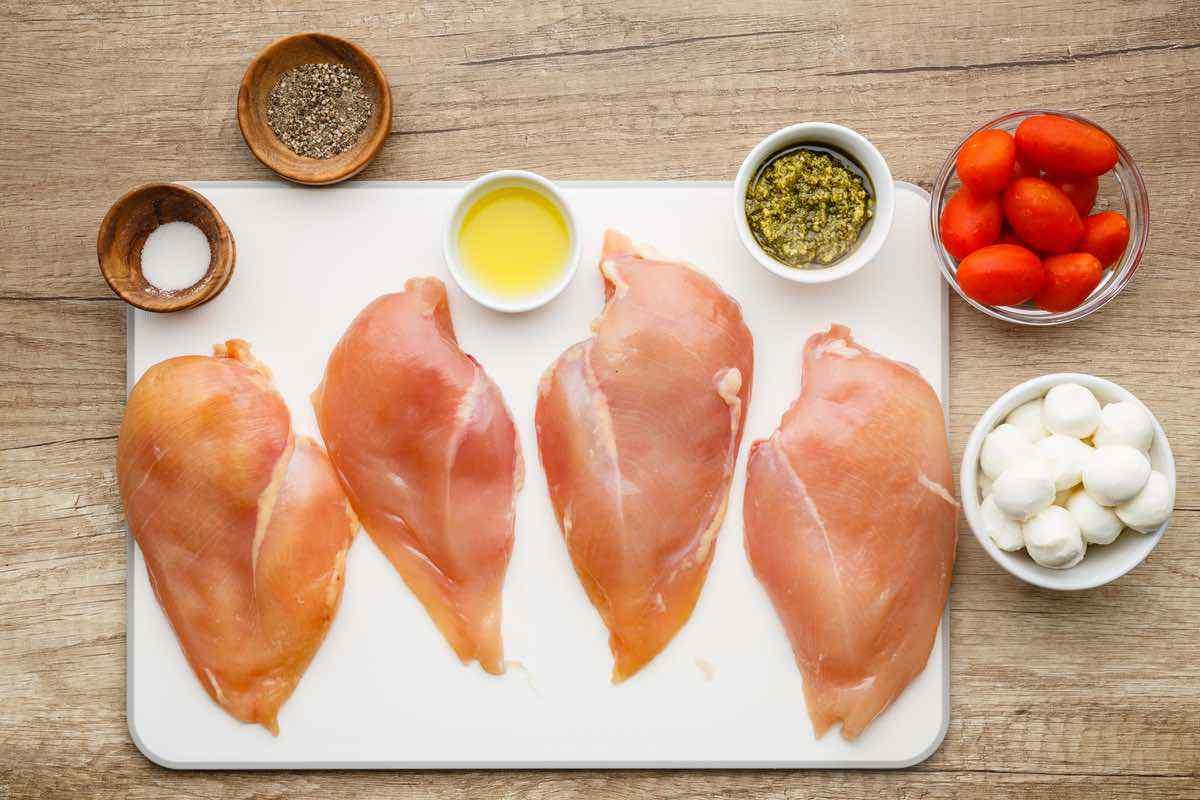 Easy Sheet Pan Keto Chicken Breast Meal