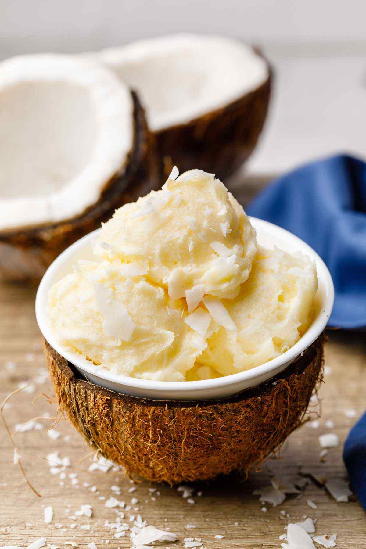 Fat Bomb Keto Coconut Ice Cream