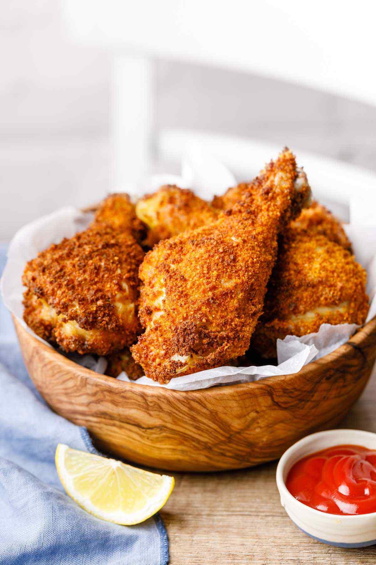 Crunchy Keto Fried Chicken