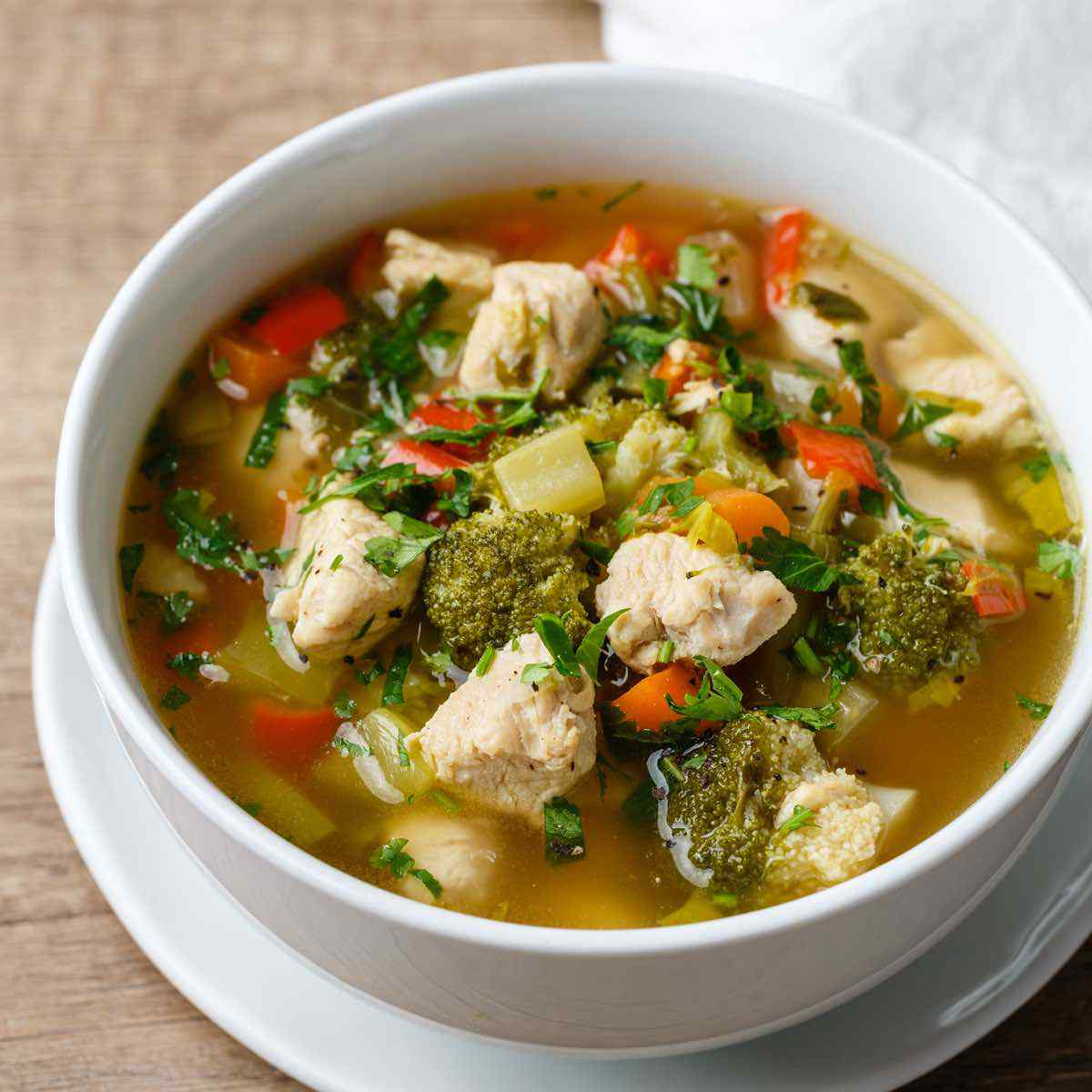 Chicken Bone Broth Soup Recipe