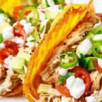 Keto Crockpot Chicken Tacos