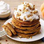 Keto Pumpkin Spice Pancakes