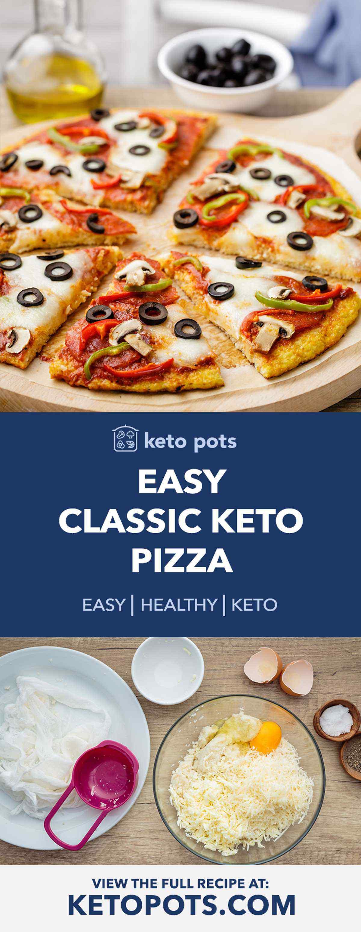 Classic Keto Pizza