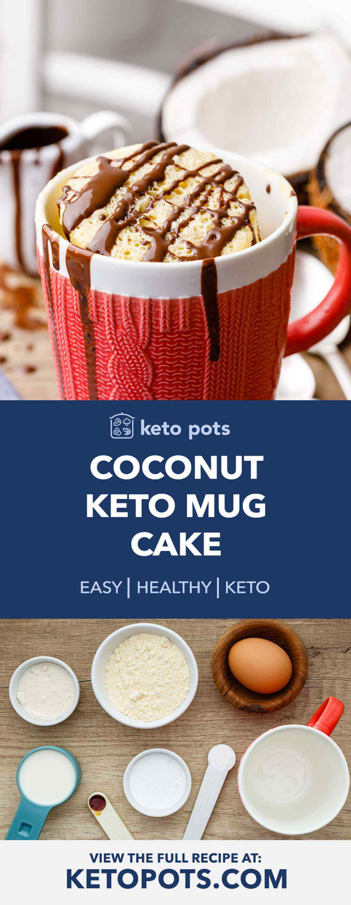 Keto Coconut Mug Cake
