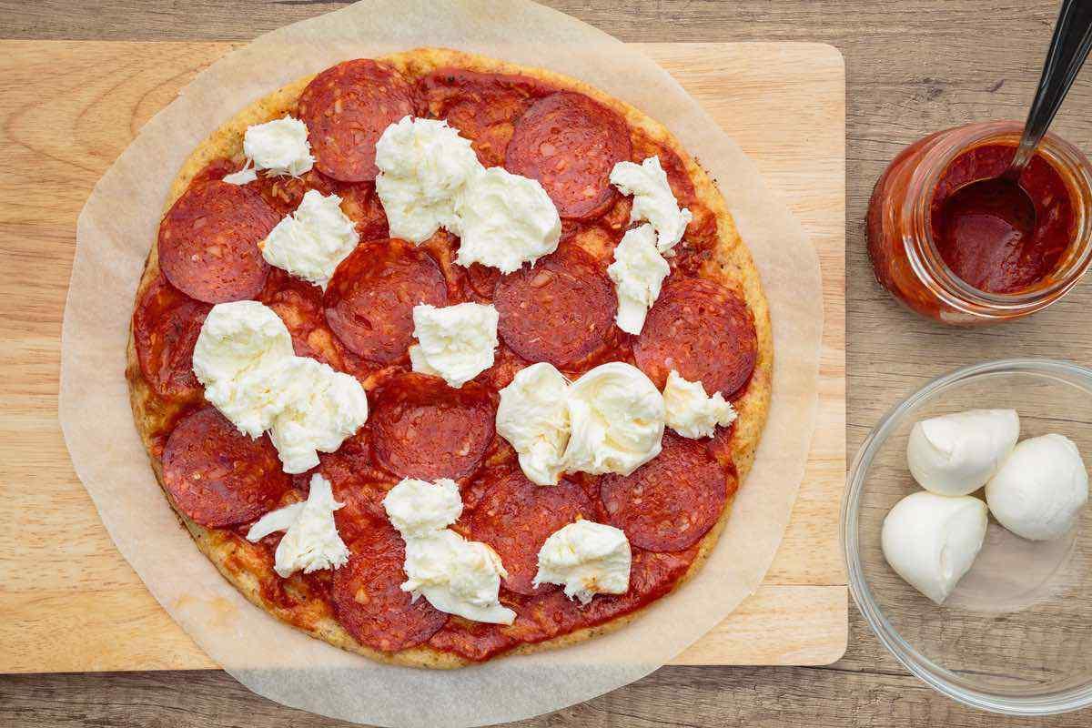 New York Style Keto Pizza Crust