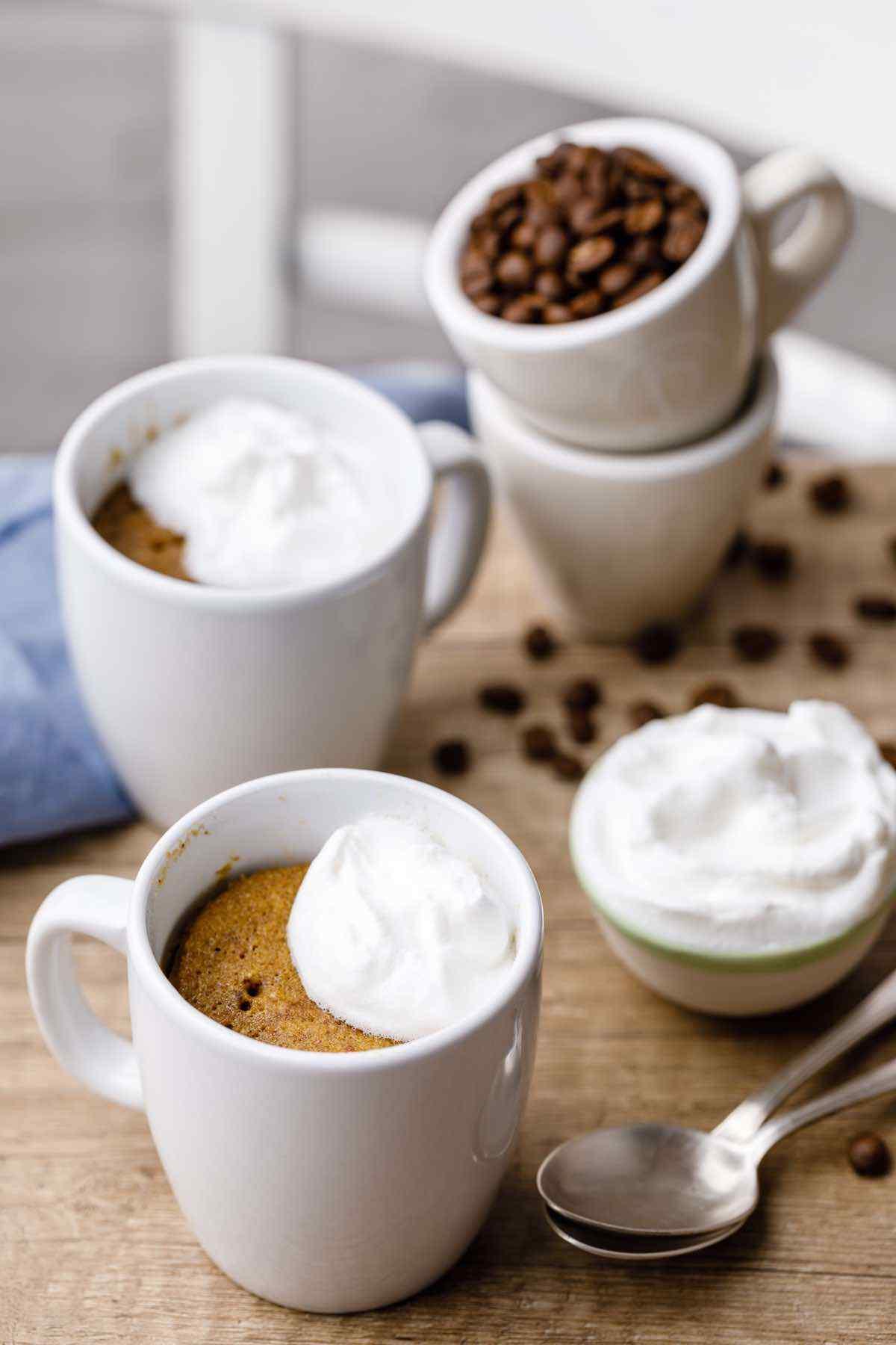 Bulletproof Coffee Keto Mug Cake