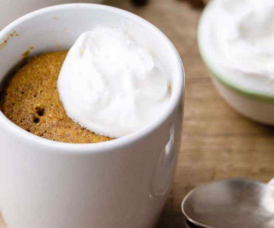 Bulletproof Coffee Keto Mug Cake