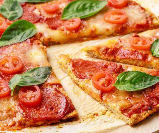 Keto Thin Crust Pizza