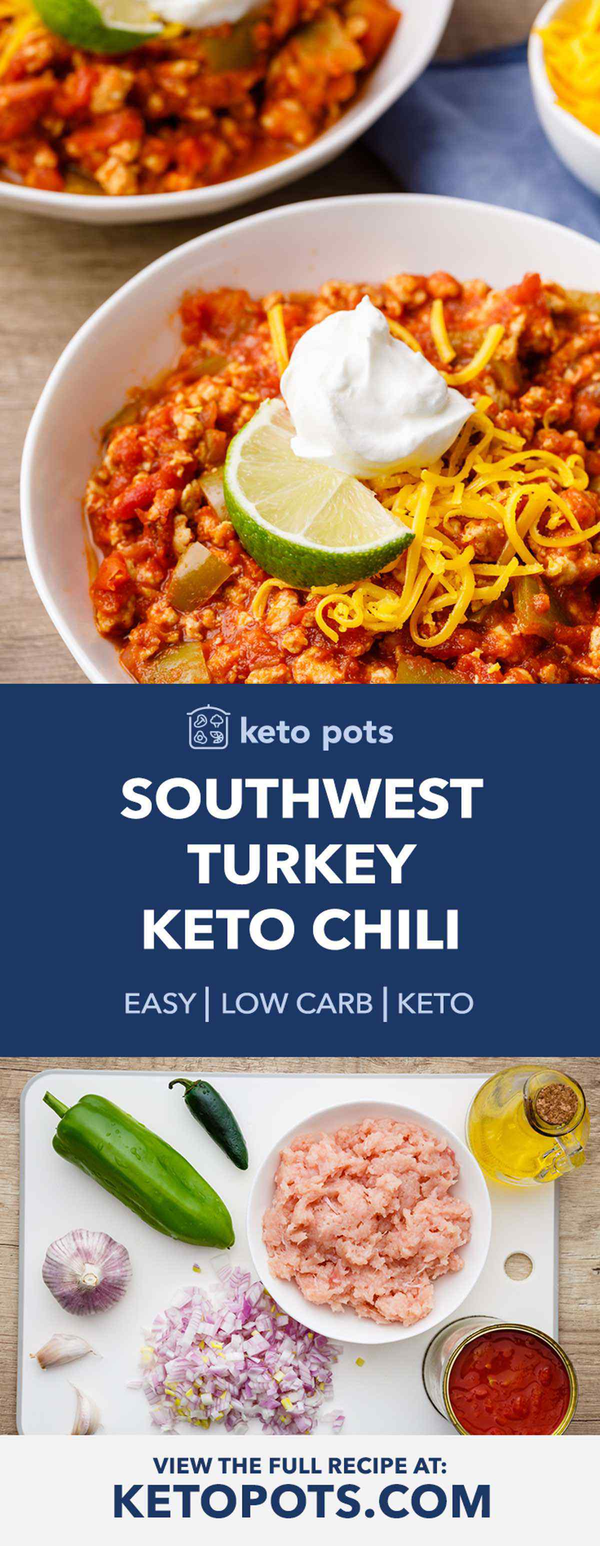 Keto Turkey Chili