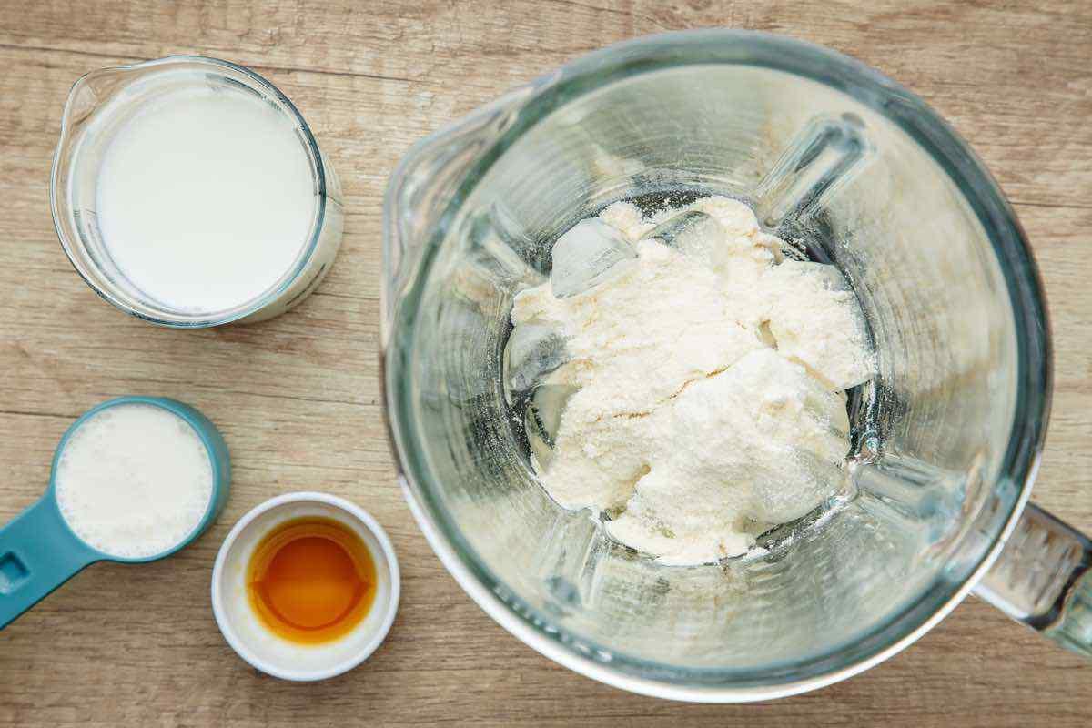 Keto Vanilla Protein Shake