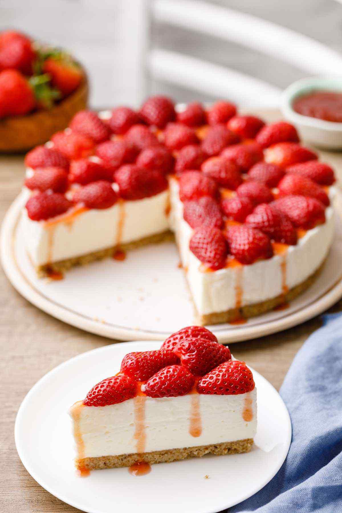 No Bake Keto Cheesecake