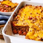 Chili Dog Keto Casserole