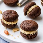 Keto Peanut Butter Chocolate Cookie Sandwiches