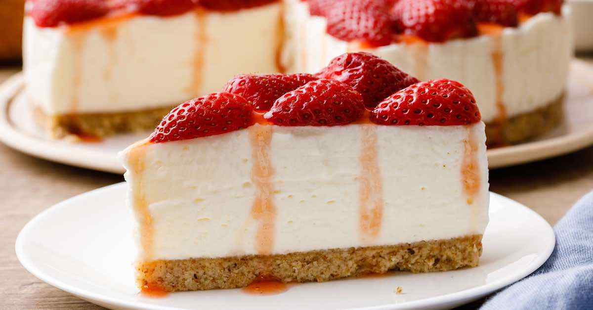 New York Style No Bake Keto Cheesecake Easy And Low Carb