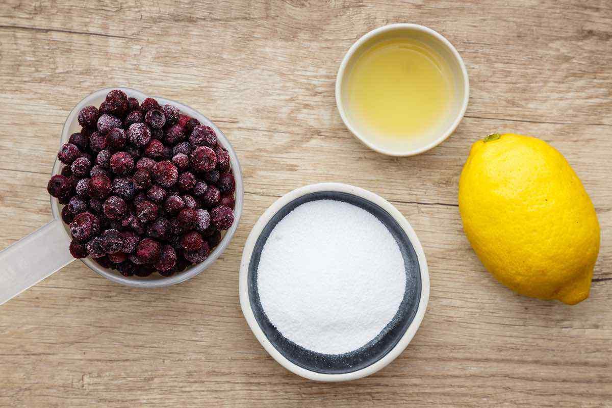 Blueberry Lemon Keto Cheesecake in a Jar