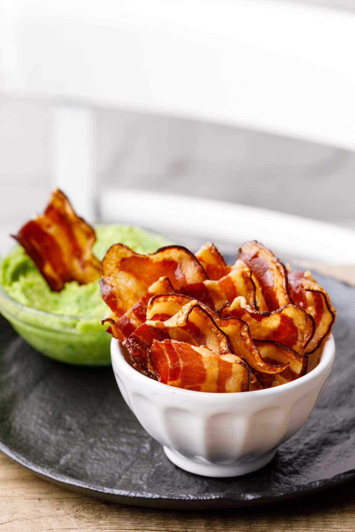 Keto Bacon Chips