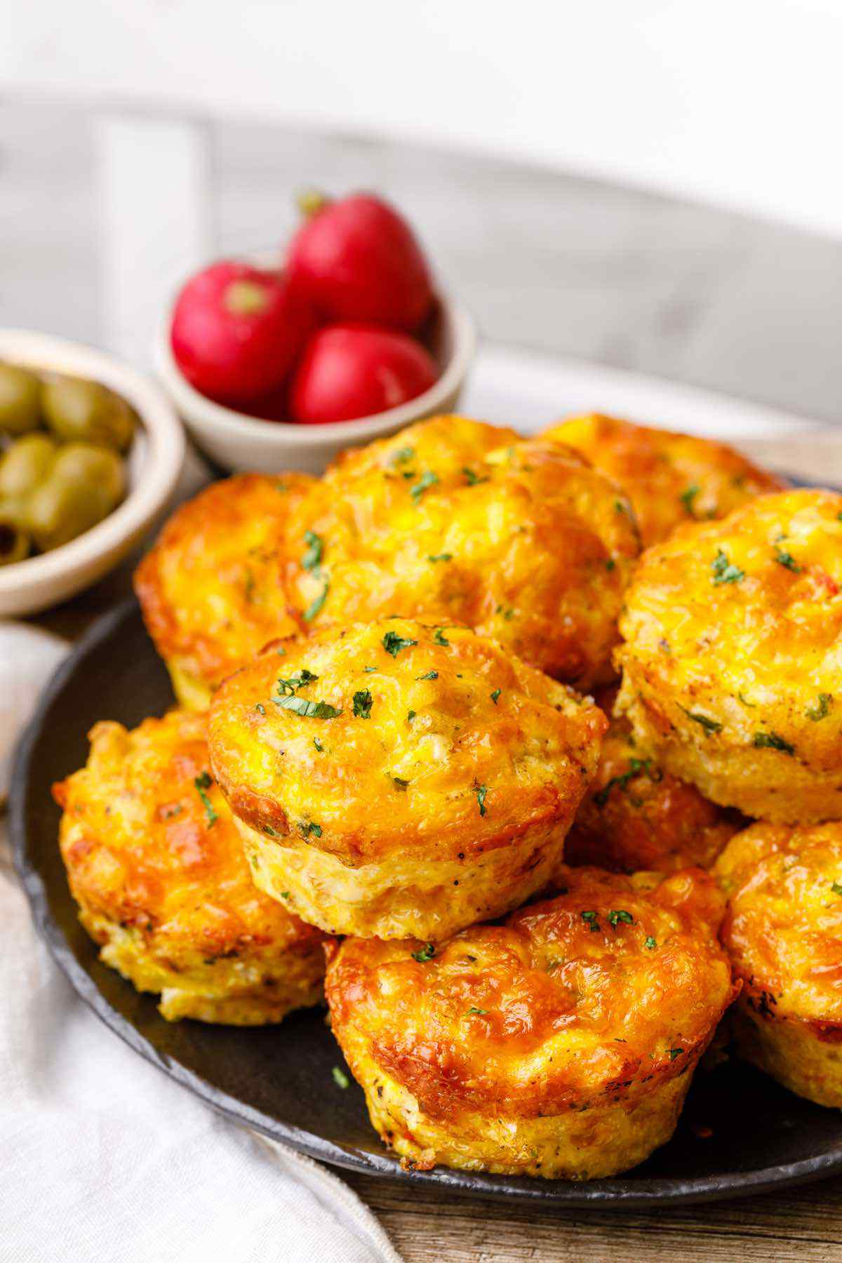 Sausage and Cheese Keto Egg Muffins