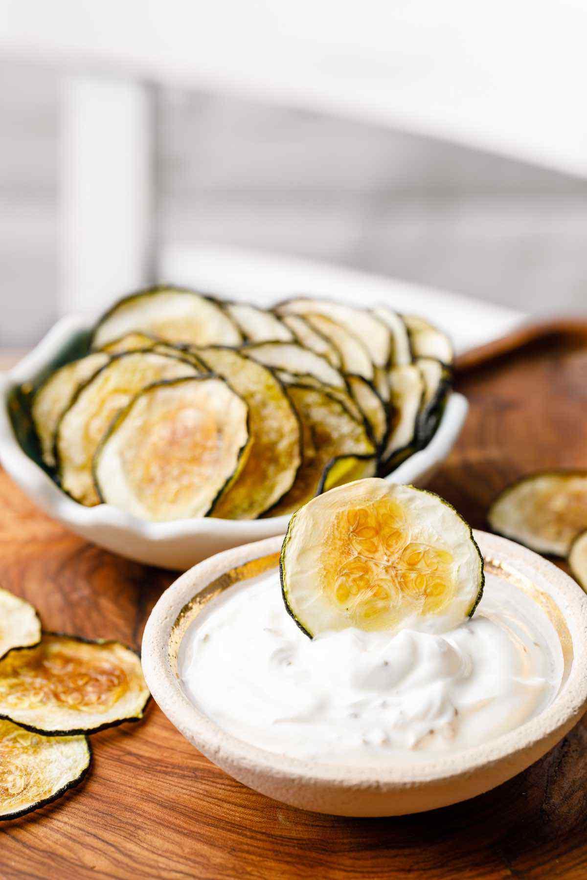 Homemade Keto Zucchini Chips