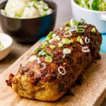 Teriyaki Chicken Meatloaf