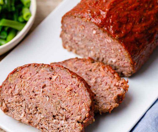 Crockpot Keto Meatloaf