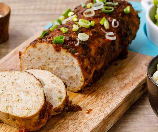 Teriyaki Chicken Meatloaf