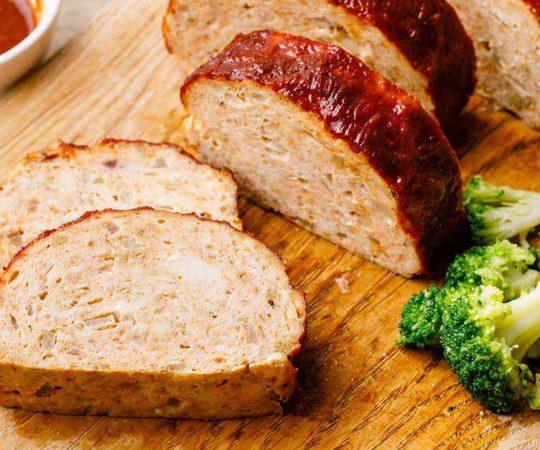 Low Carb Keto Turkey Meatloaf
