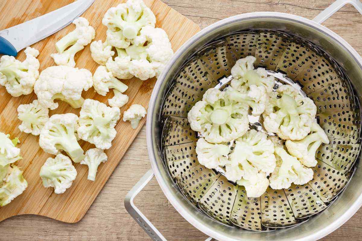 Homemade Keto Mashed Cauliflower