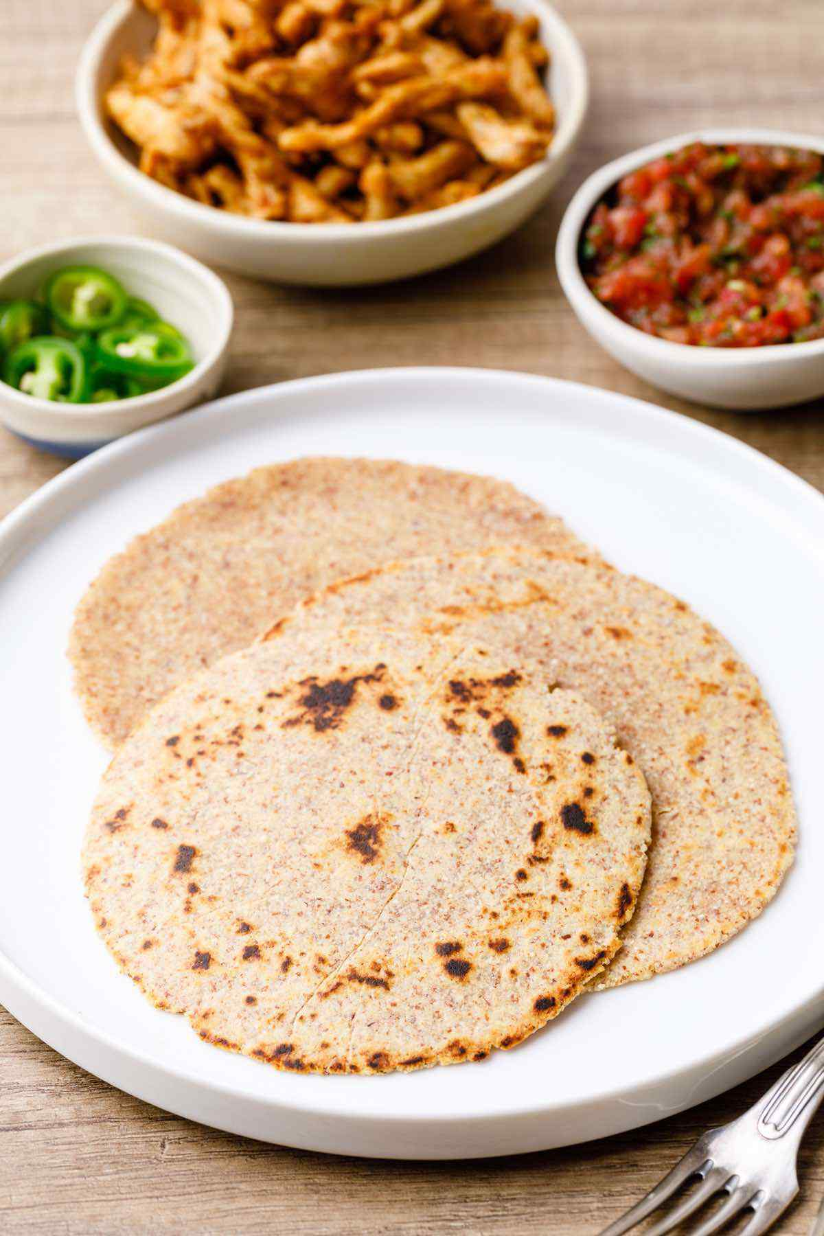 Low Carb Keto Tortillas