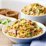 Keto Pork Cauliflower Fried Rice