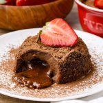 Flourless Keto Chocolate Lava Cake
