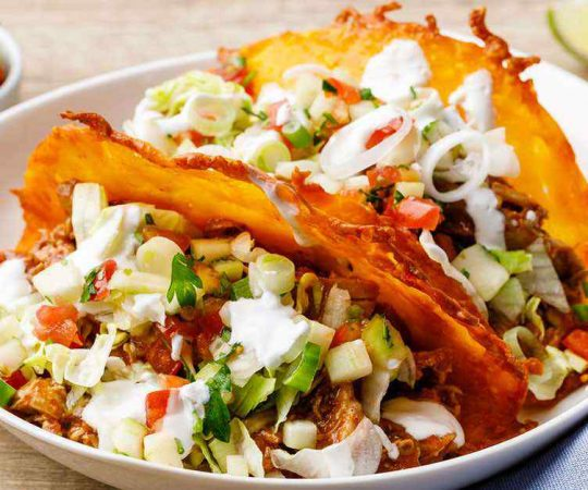 Easy Keto Crock Pot Pulled Chicken Taco Meat