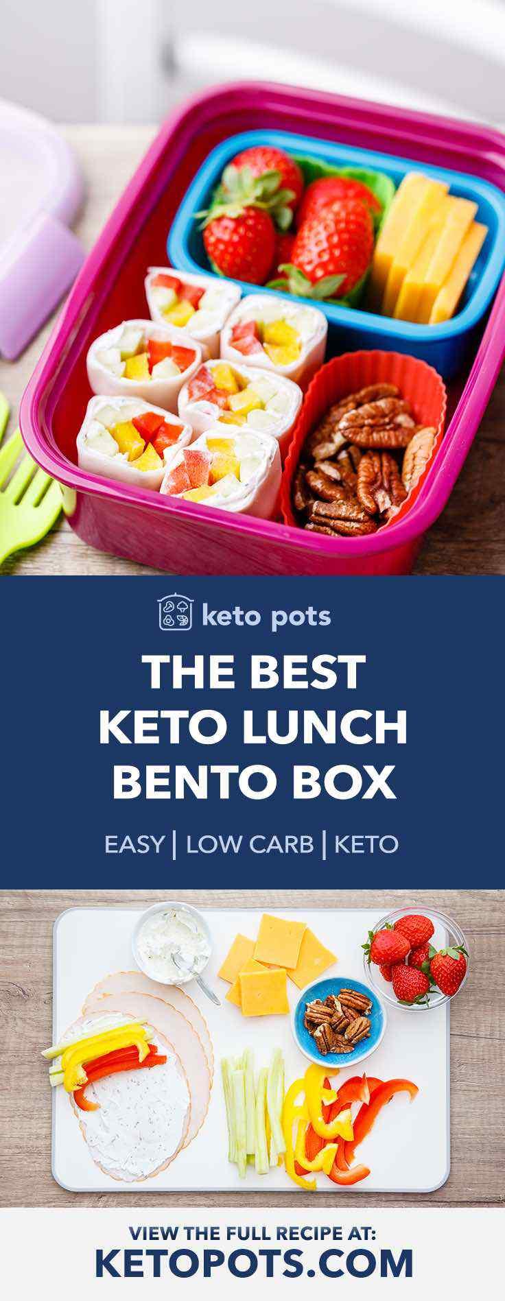 Keto Lunch Bento Box for Kids