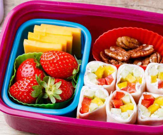 keto lunch bento box
