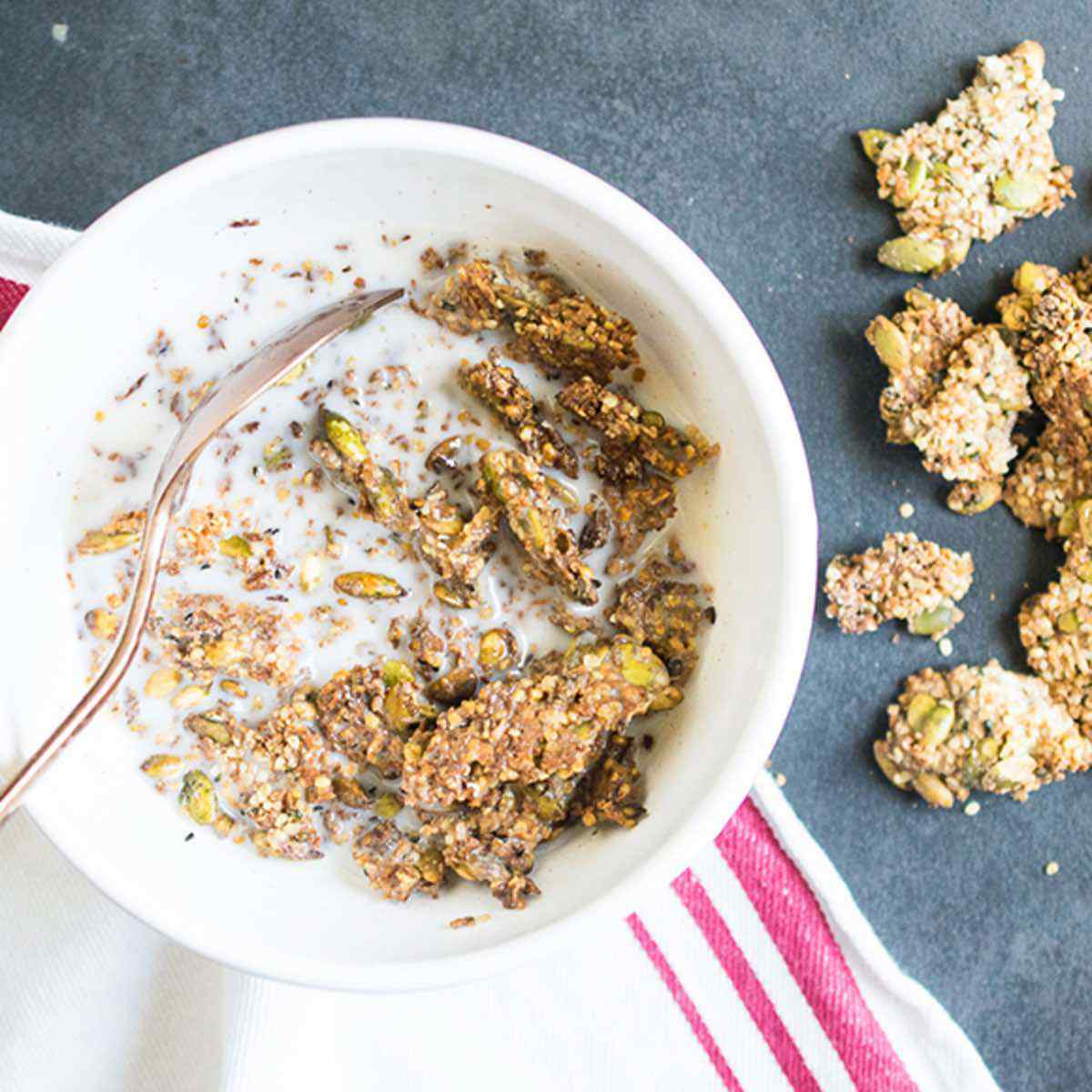 Crunchy Coconut Clusters