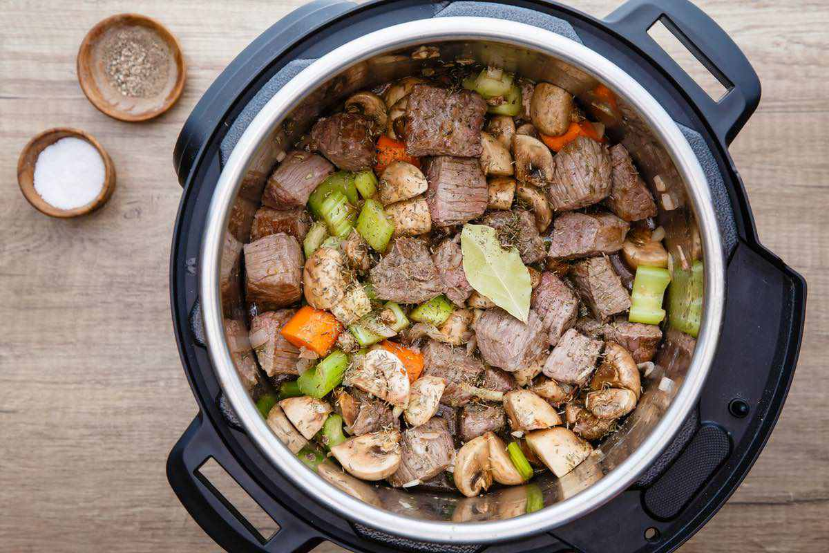 Instant Pot Keto Beef Stew