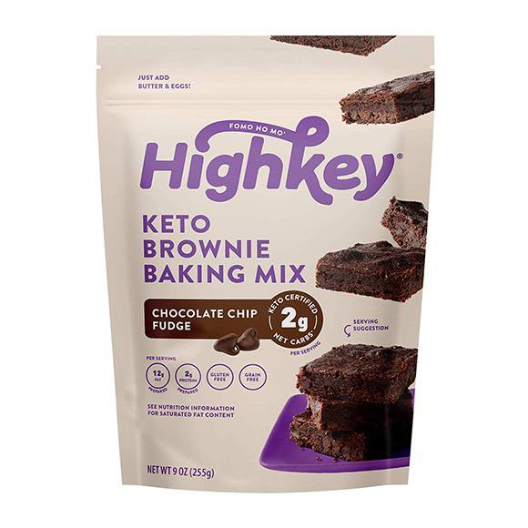 HighKey Chocolate Chip Fudge Keto Brownie Mix