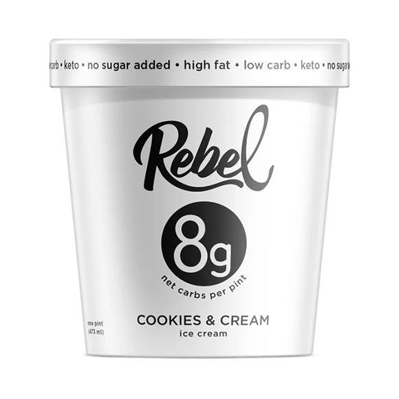 Rebel Creamery Keto Ice Cream