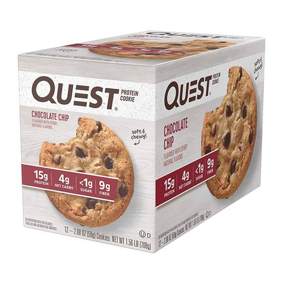 Quest Nutrition Chocolate Chip Protein Cookies