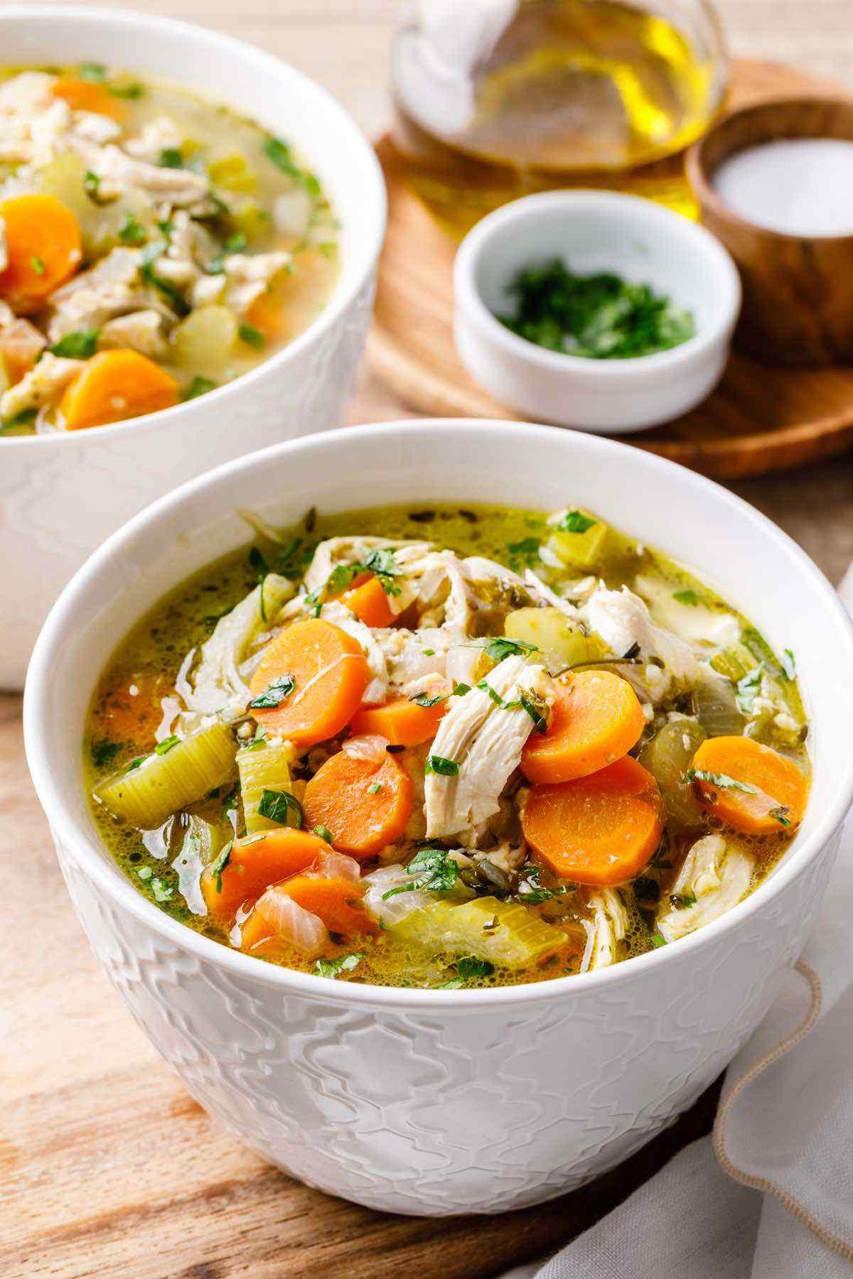 Keto Chicken Soup Recipes