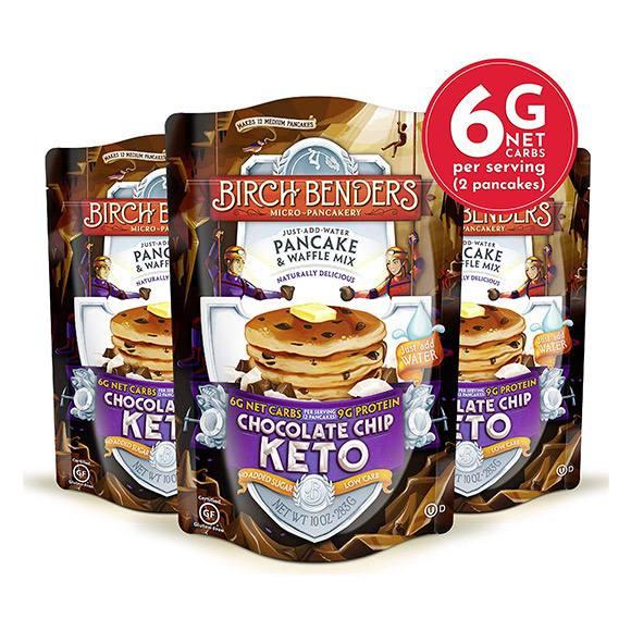 Birch Benders Keto Chocolate Chip Pancake Mix