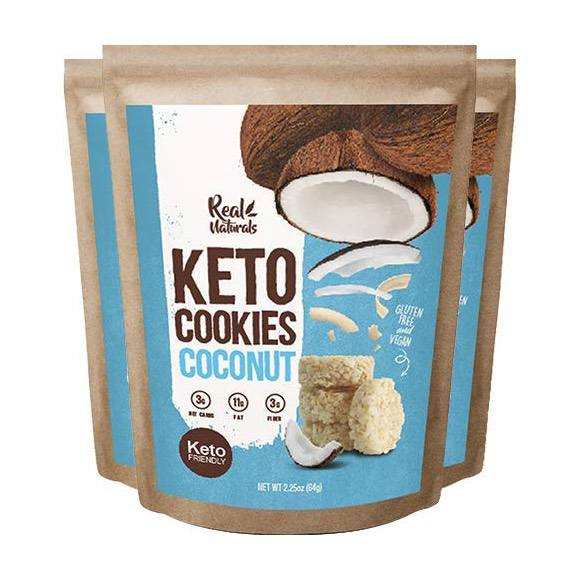 Real Naturals Buttery Coconut Cookies