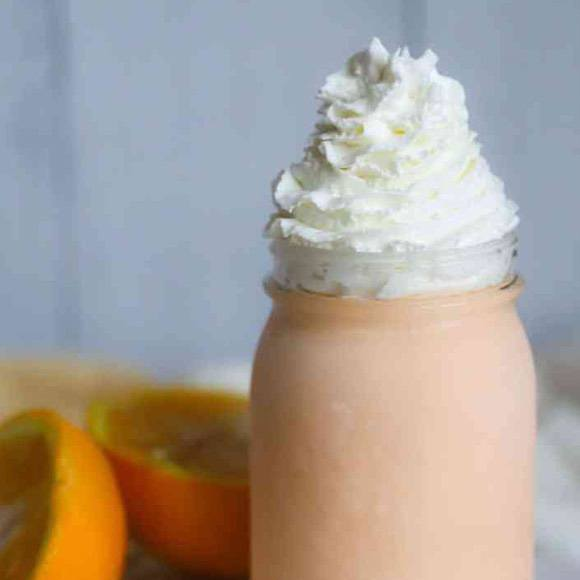 Creamy Keto Orange Creamsicle Ice Cream