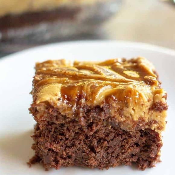 Caramel Macchiato Keto Brownies