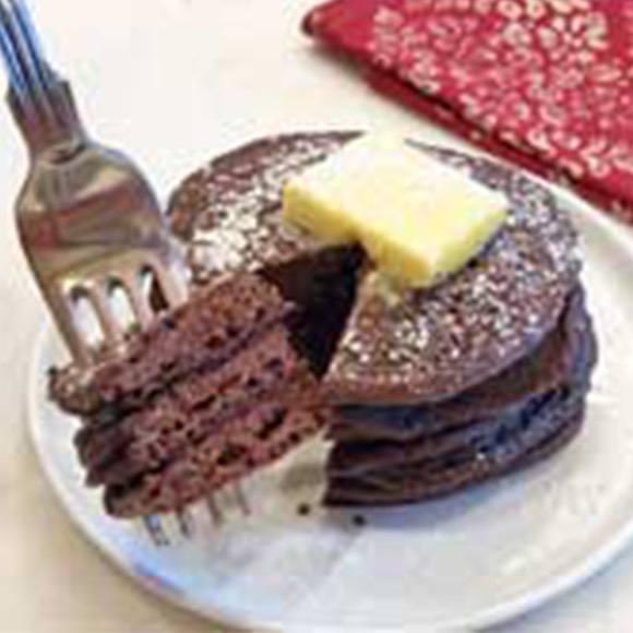 Keto Chocolate Pancakes