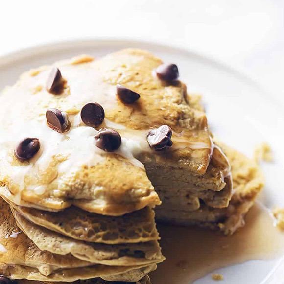 4-Ingredient Protein Pancakes