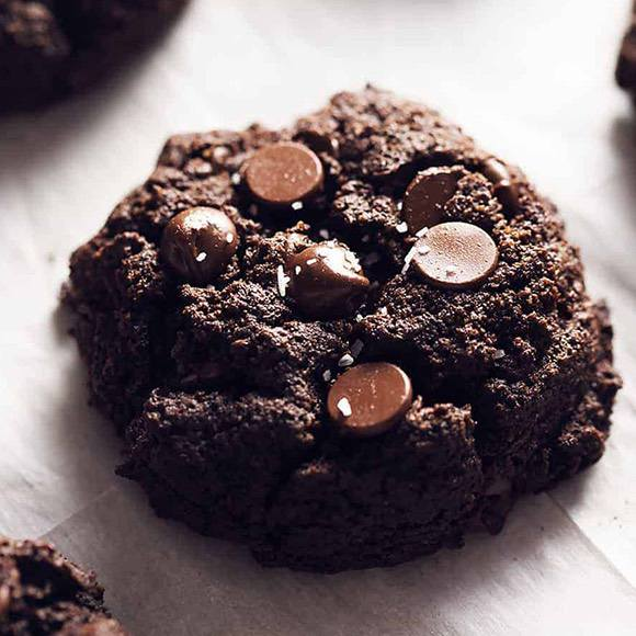 Thick and Fudgy Brownie Cookies